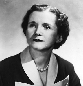 Rachael Carson wrote many books.  Her best selling book, Silent Spring inspired millions.