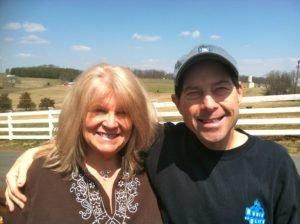Kaye and Tom Eavers of Morningside Farm in Mount Sidney, VA