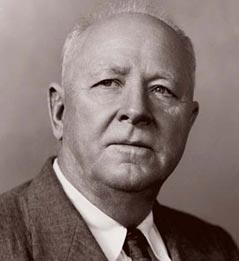 Hugh Hammond Bennett, father of soil conservation in America.