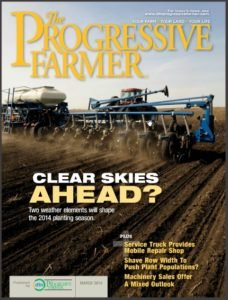 Progressive Farmer Magazine Cover for March 2014
