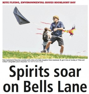 Front page of the News Leader.  Click on the image to read the article.