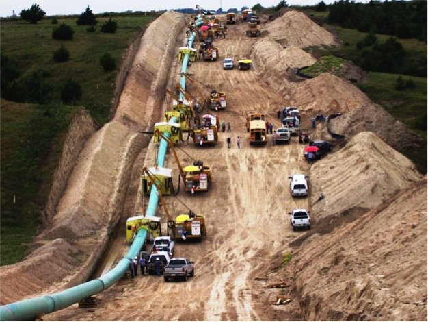 Natural Gas Pipeline Installation : Unwise pipeline needs people power getting more on the