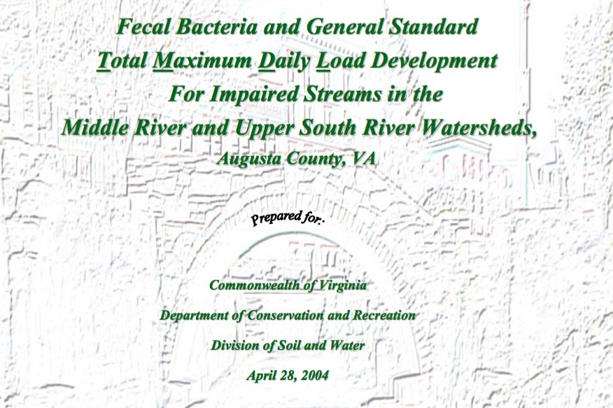 E. coli report for Middle River