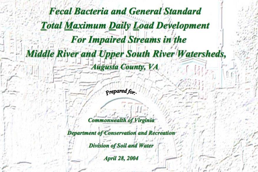E. coli report for Middle River
