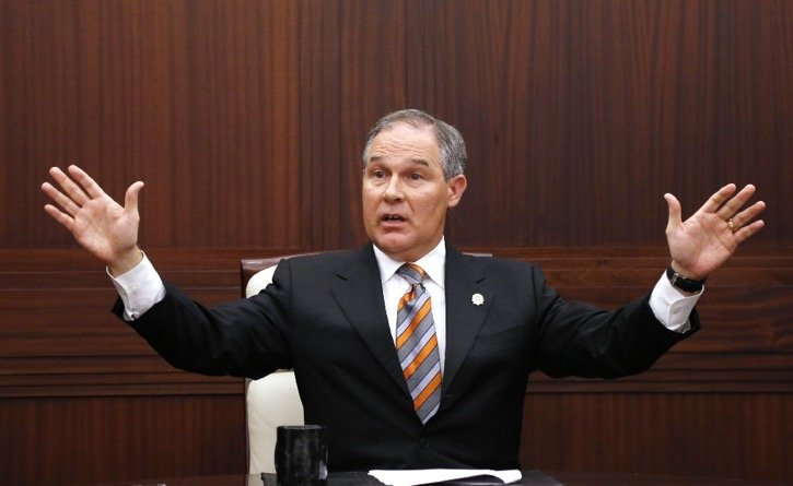 Pruitt torpedoes Clean Water Act