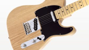 The Telecaster electric guitar was made from Green Ash